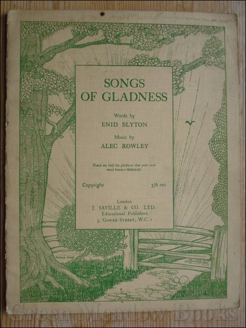 Image for SONGS OF GLADNESS