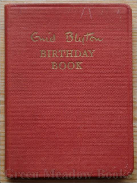 Image for ENID BLYTON BIRTHDAY BOOK
