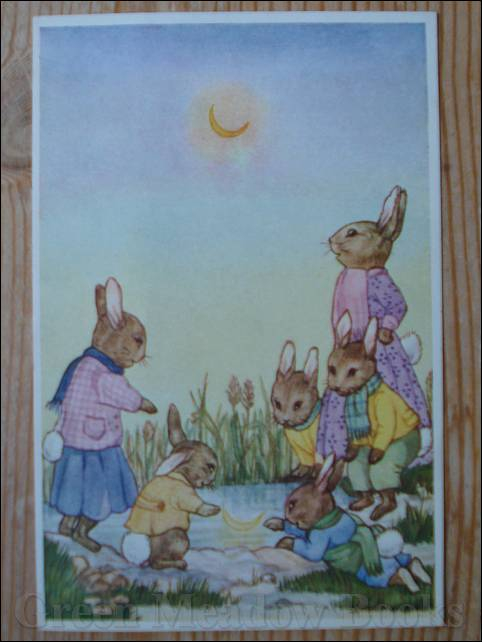 Image for MOON MAGIC  No. 6   -  RABBIT FAMILY