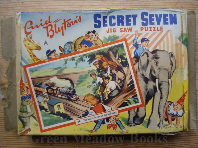 Image for SECRET SEVEN  JIG SAW PUZZLE  - SECRET SEVEN ON THE LOOK-OUT  - BESTIME JIGSAW PUZZLE  Number 24  in Series