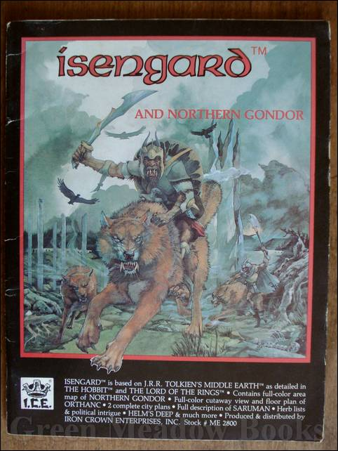Image for ISENGARD AND NORTHERN GONDOR  :  GAME BOOK