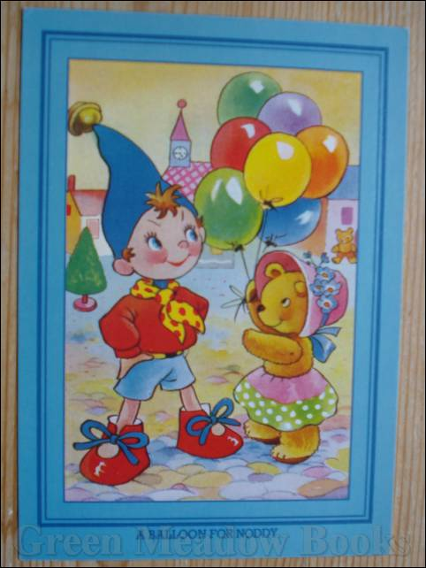 Image for NODDY POSTCARD   A BALLOON FOR NODDY  (Same picture as original 50's Hello Big Ears I've Come To See You)