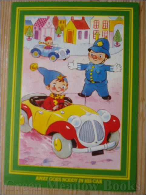 Image for NODDY POSTCARD   AWAY GOES NODDY IN HIS CAR  (Same picture as original 50's card)