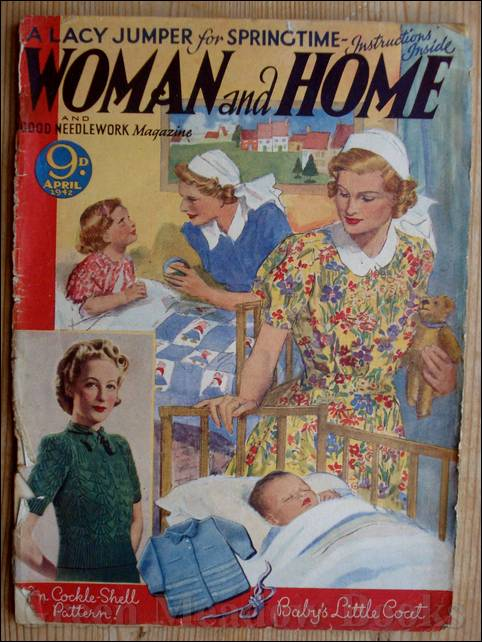 Image for WOMAN AND HOME   May 1946  and November 1946 minus covers, with front cover for April 1942.