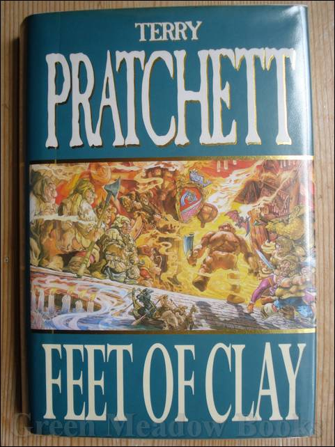 Image for FEET OF CLAY