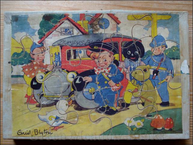 Image for BUMPY AND HIS BUS   Wooden puzzle.
