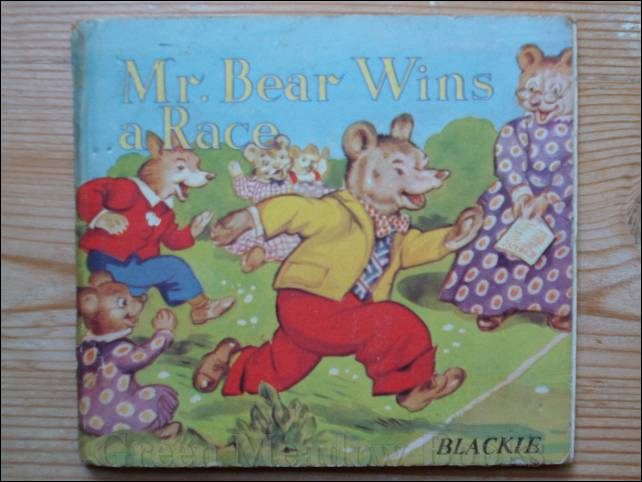 Image for MR BEAR WINS A RACE
