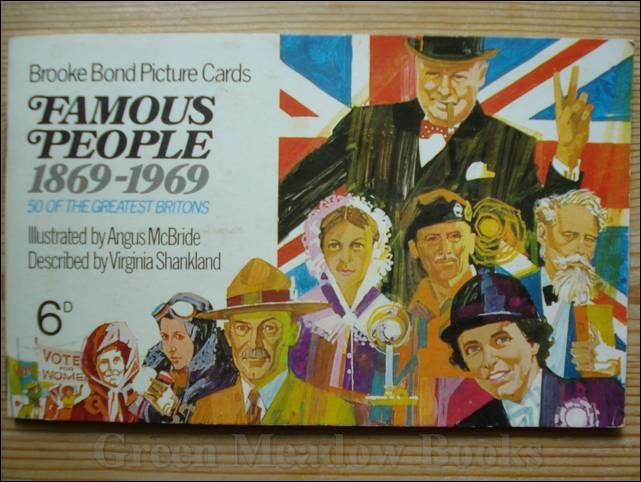 Image for FAMOUS PEOPLE  1869-1969  Cigarette Cards