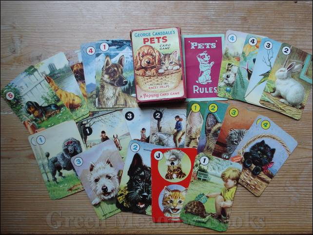 Image for GEORGE CANSDALE'S PETS CARD GAME