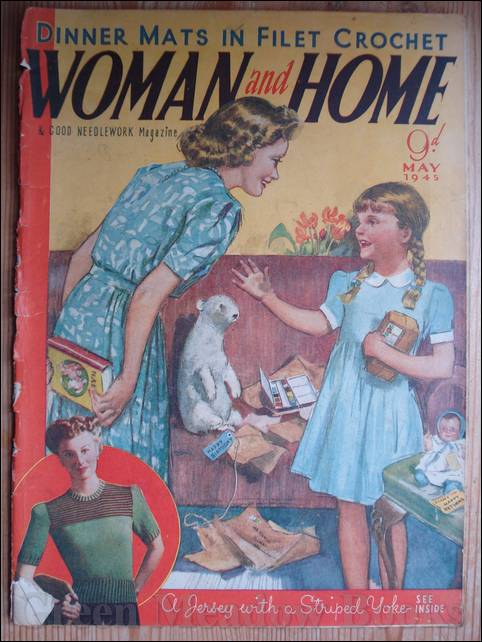 Image for WOMAN AND HOME   May 1945