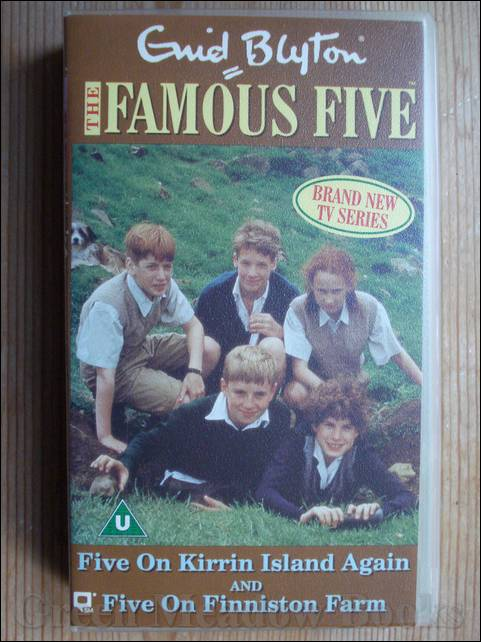 Image for VIDEO: THE FAMOUS FIVE  -  FIVE ON KIRRIN ISLAND AGAIN and FIVE ON FINNISTON FARM