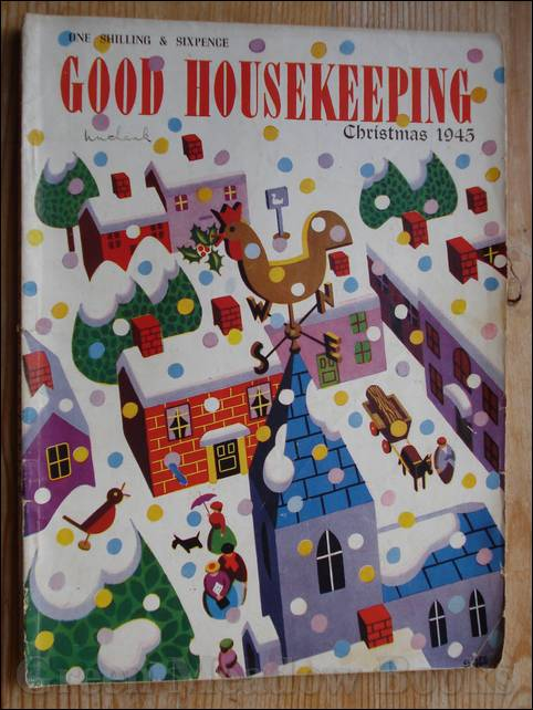 Image for GOOD HOUSEKEEPING  With ENID BLYTON PAGES, and ALISON UTTLEY Content   CHRISTMAS 1945