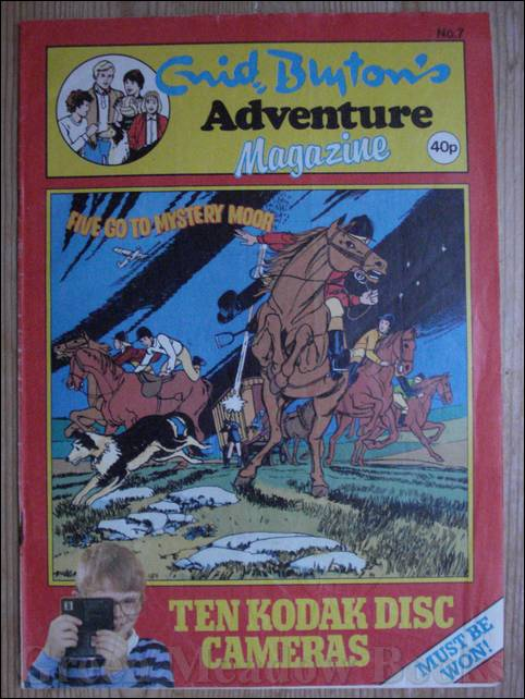 Image for ENID BLYTON'S ADVENTURE MAGAZINE  Number 7