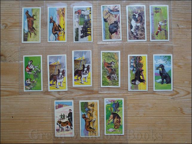 Image for VIMS - DOG CARDS  DOGS AT WORK  A SERIES OF 25   Cigarette Cards
