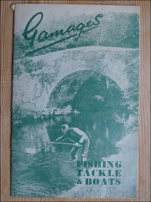 Image for GAMAGES   CATALOGUE FOR FISHING TACKLE AND BOATS