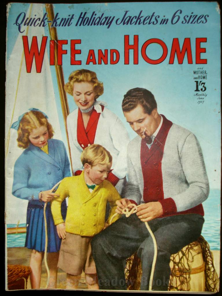 Image for WIFE AND HOME   JUNE 1957