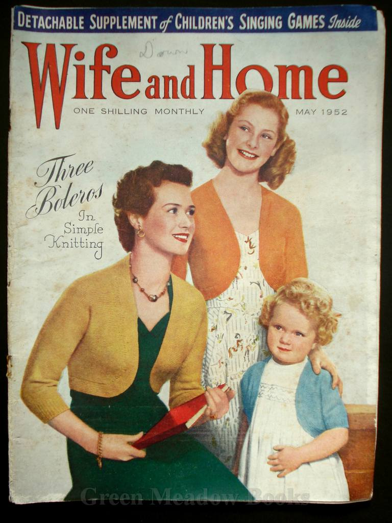 Image for WIFE AND HOME   MAY 1952