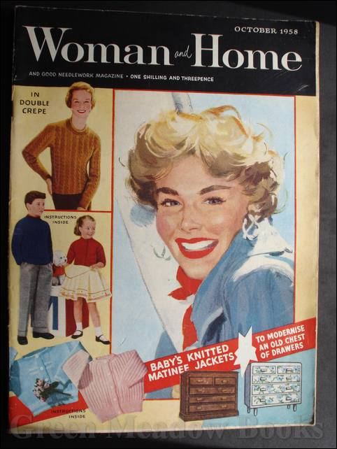Image for WOMAN AND HOME   OCTOBER 1958