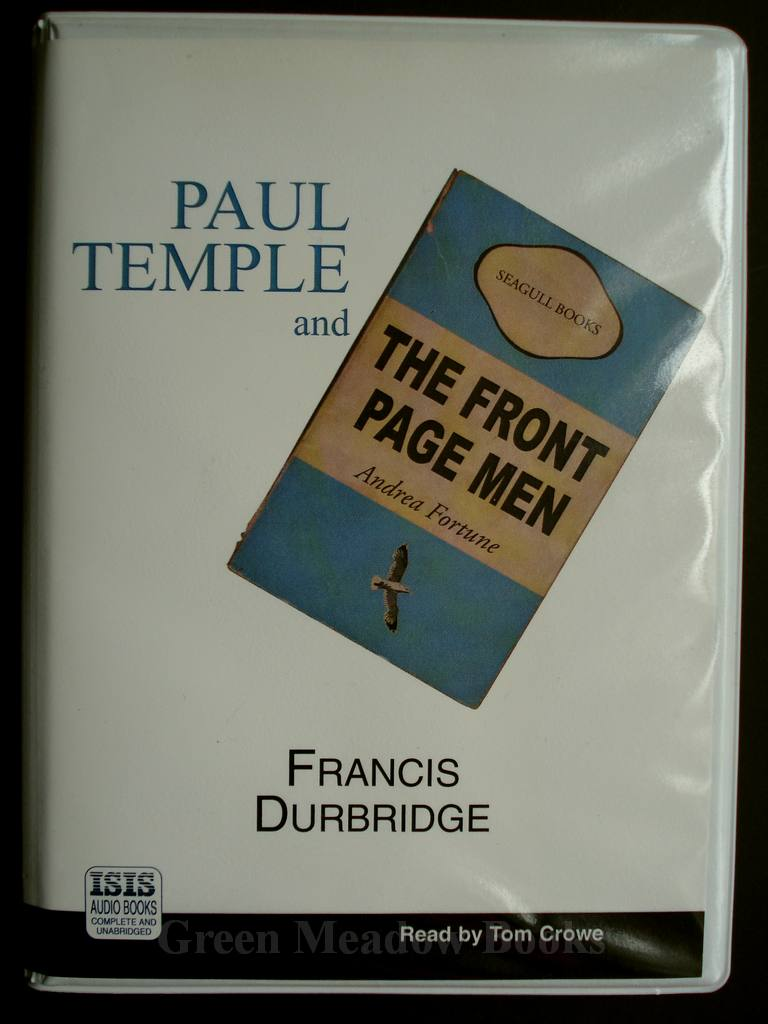 Image for PAUL TEMPLE AND THE FRONT PAGE MEN