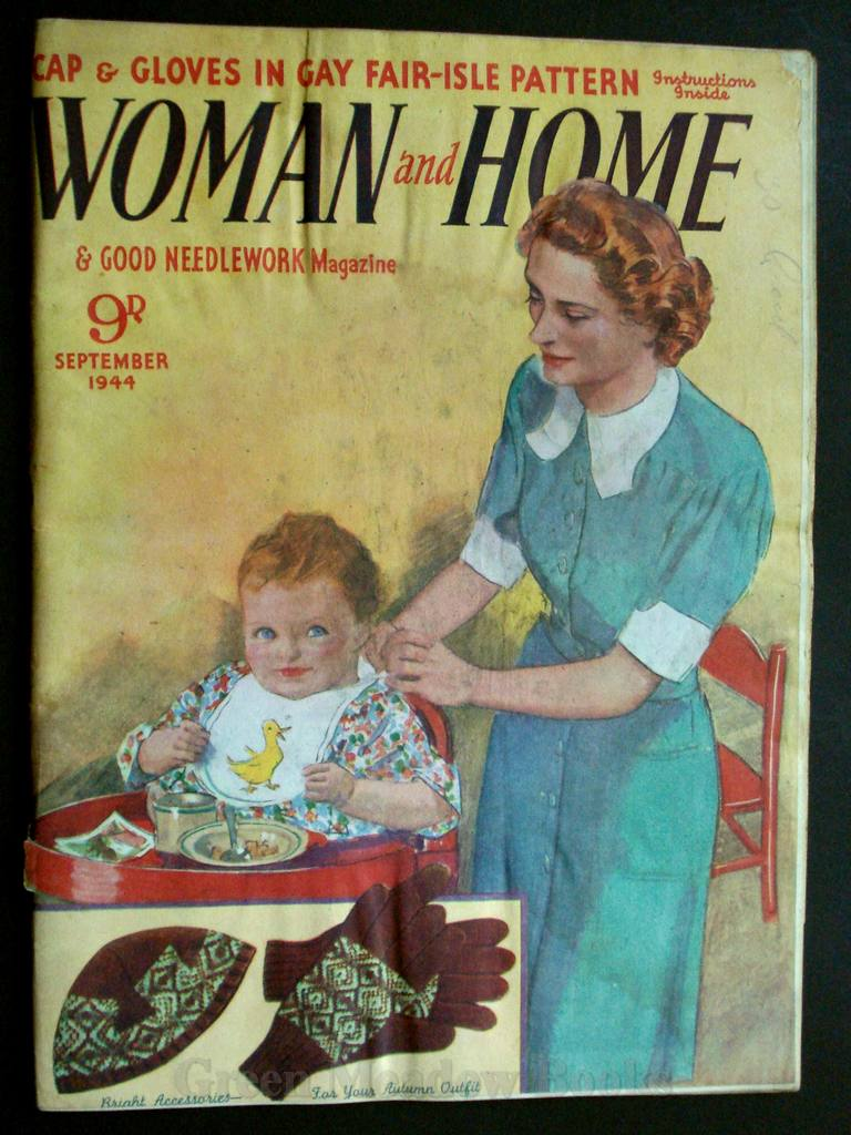 Image for WOMAN AND HOME   SEPTEMBER 1944