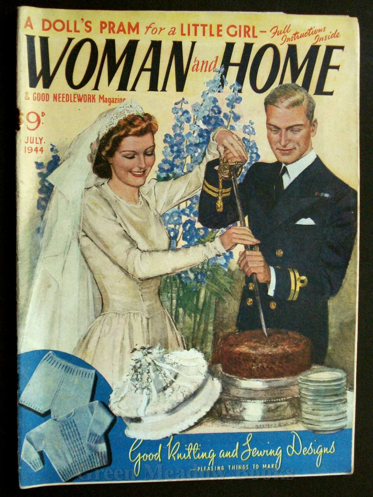 Image for WOMAN AND HOME   JULY 1944
