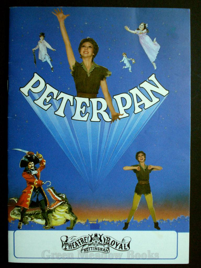Image for PETER PAN THEATRE PROGRAMME   -  THEATRE ROYAL NOTTINGHAM  STARRING BONNIE LANGFORD