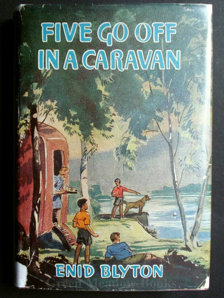 Image for FIVE GO OFF IN A CARAVAN