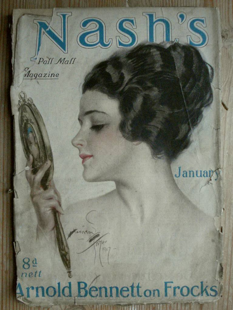 Image for NASH'S and Pall Mall MAGAZINE  JANUARY 1918