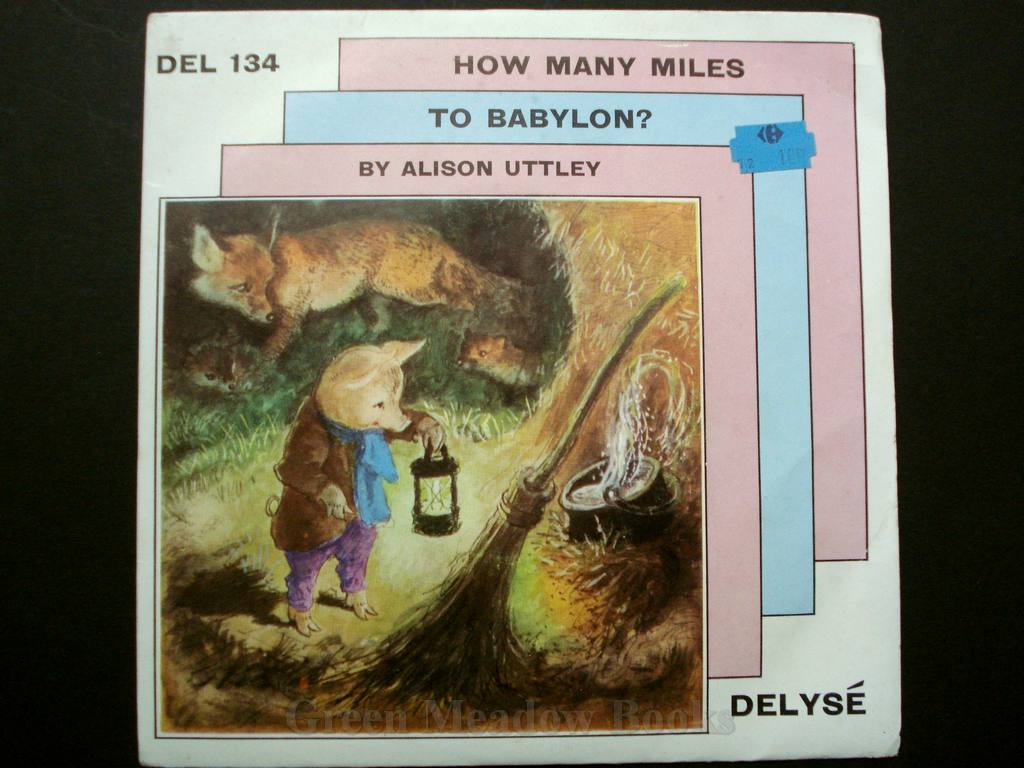 Image for RECORD: STORIES OF SAM PIG : HOW MANY MILES TO BABYLON   Delyse 134