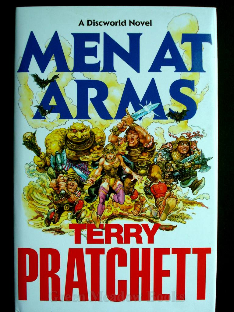 Image for MEN AT ARMS     A DISCWORLD NOVEL