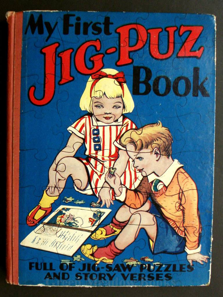 Image for MY FIRST JIG-PUZ BOOK    FULL OF JIG-SAW PUZZLES AND STORY VERSES!
