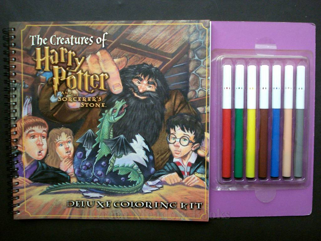 Image for THE MAGIC OF HARRY POTTER AND THE SORCERER'S STONE DE LUXE COLOURING KIT