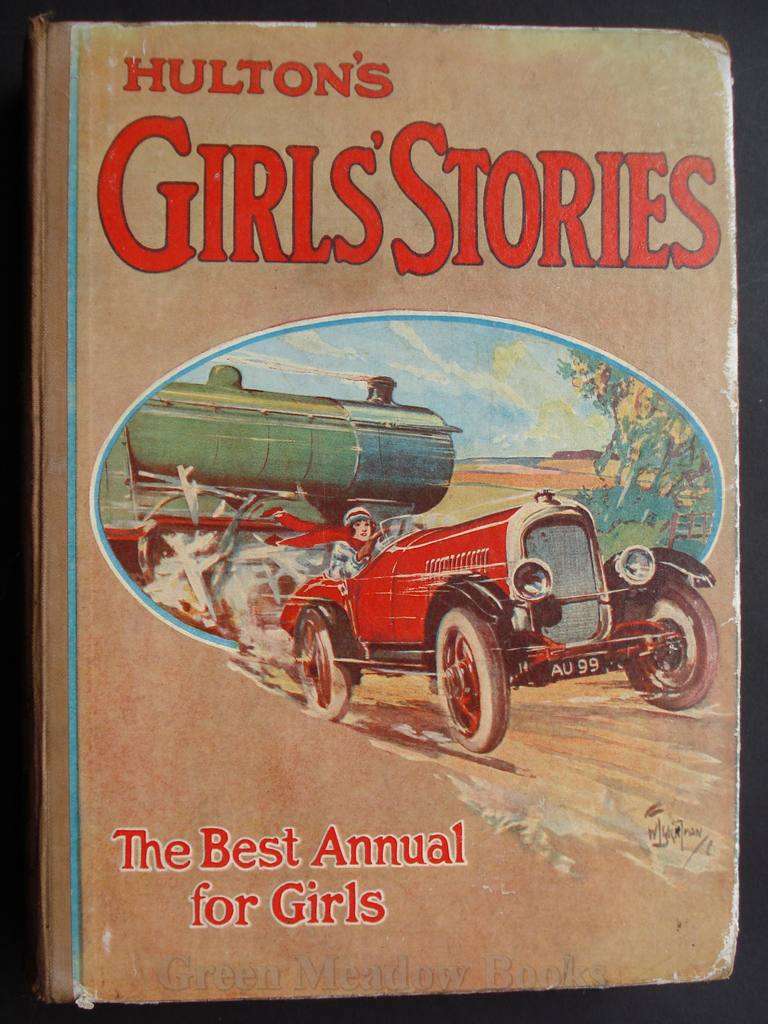 Image for HULTON'S GIRLS' ANNUAL    The Best Annual For Girls!