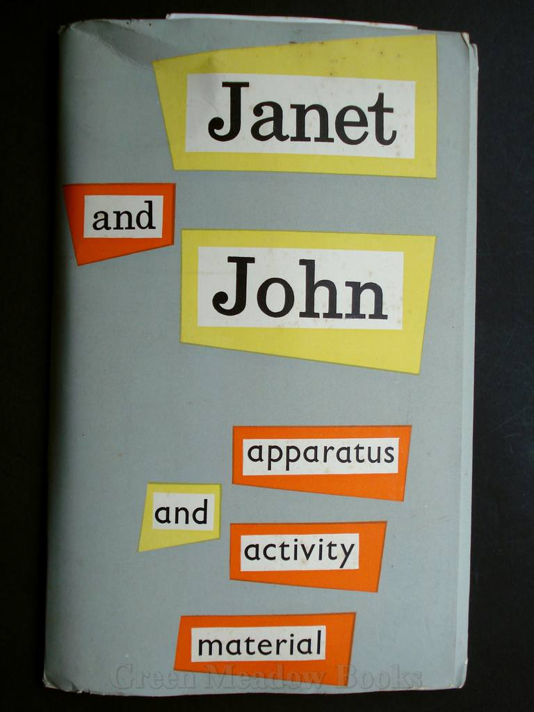 Image for JANET AND JOHN    APPARATUS AND ACTIVITY MATERIAL  Specimen items of the material for the Janet & John Reading Scheme