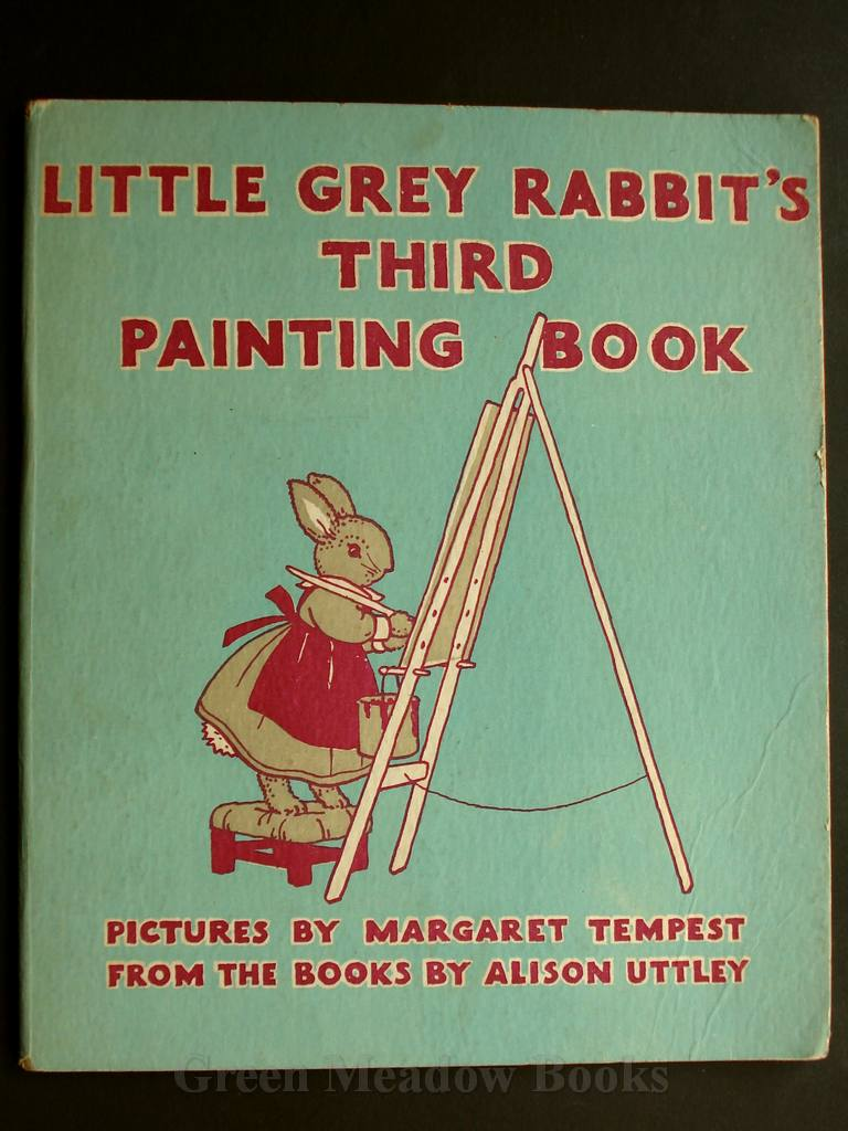Image for LITTLE GREY RABBIT'S THIRD PAINTING BOOK