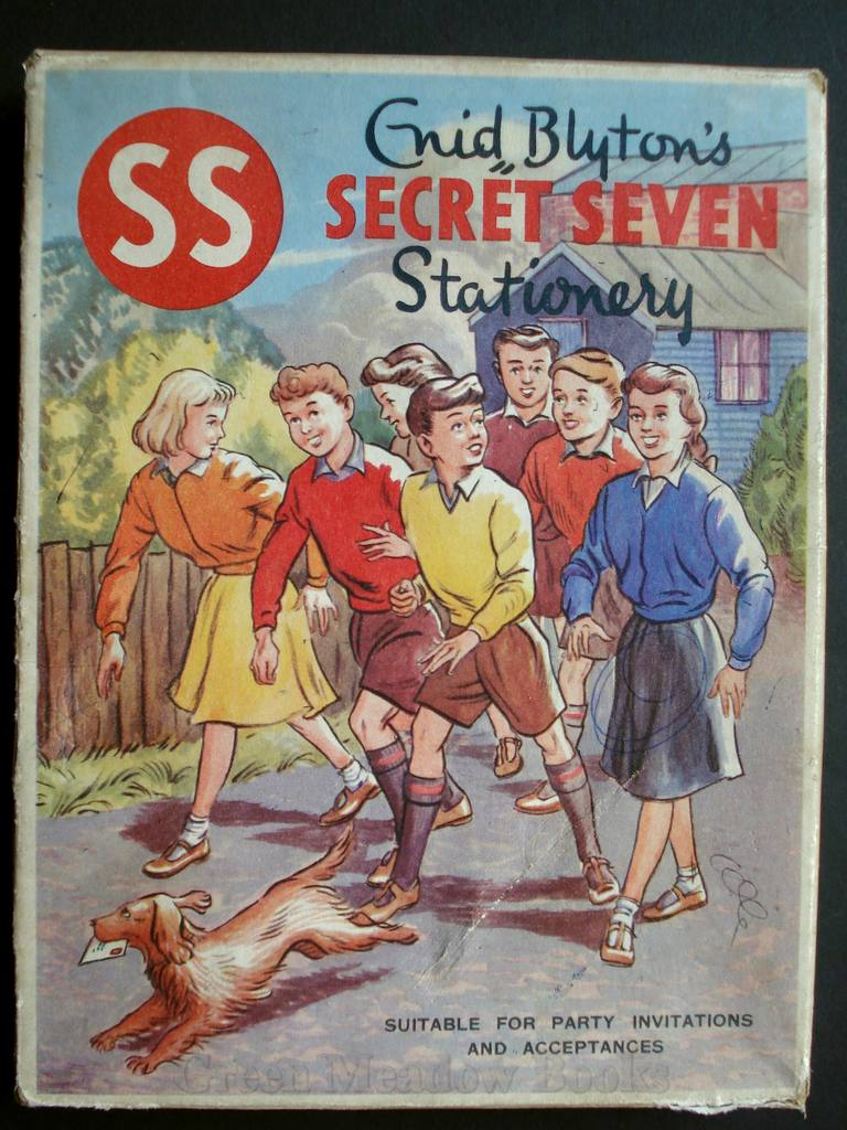 Image for ENID BLYTON'S SECRET SEVEN STATIONERY       WRITING PAPER!  Suitable for Party Invitations and Acceptances