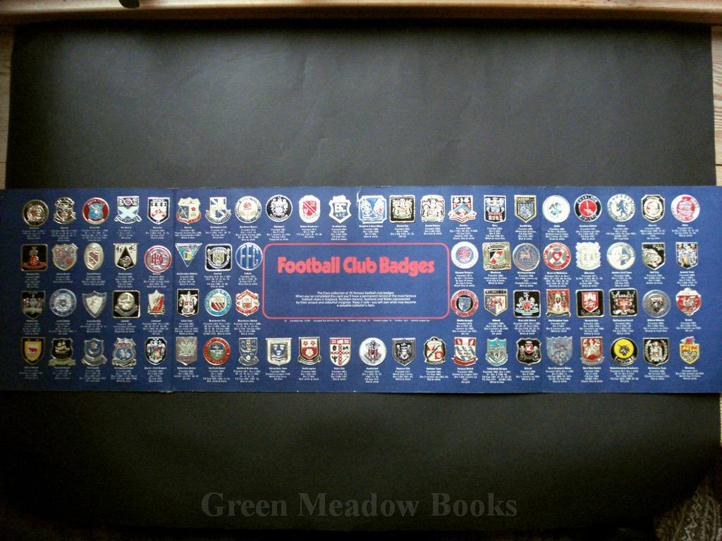 Image for THE ESSO COLLECTIO OF FOOTBALL CLUB BADGES