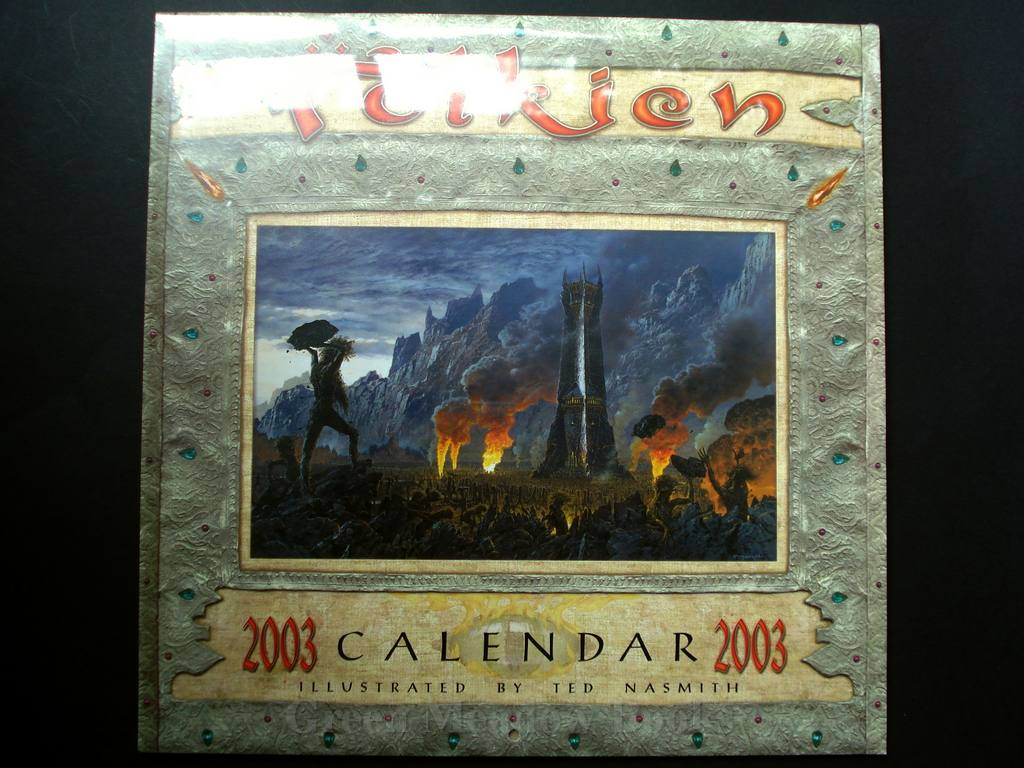 Image for TOLKIEN CALENDAR 2003