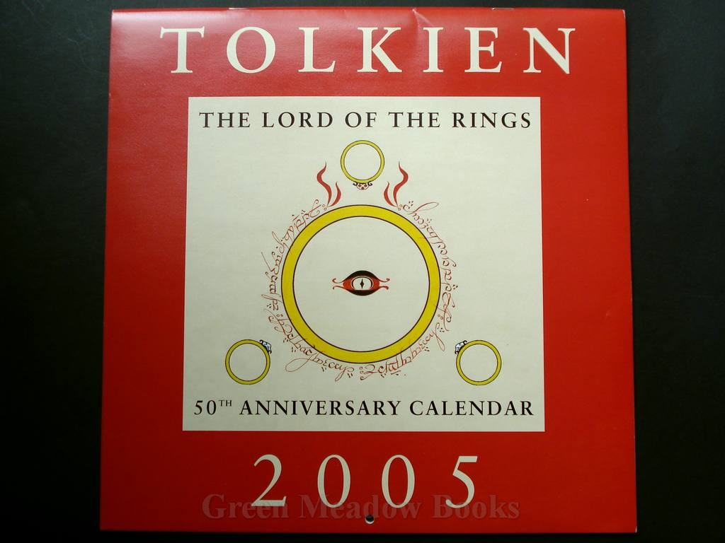 Image for TOLKIEN CALENDAR 2005     THE LORD OF THE RINGS  50th ANNIVERSARY CALENDAR