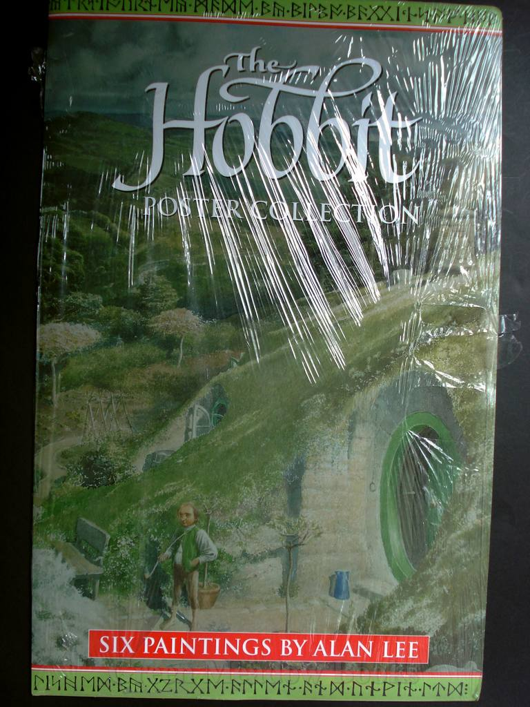 Image for THE HOBBIT POSTER COLLECTION  Celebrating 60 Years of JRR Tolkien's HOBBIT!