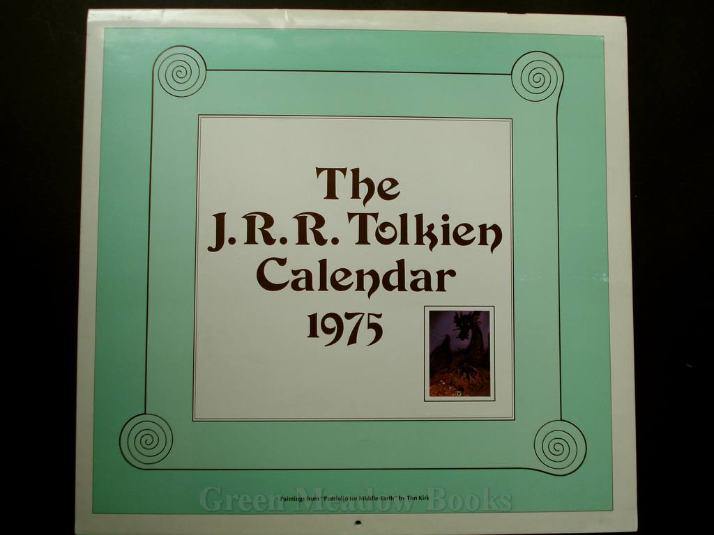 Image for THE J.R.R. TOLKIEN CALENDAR FOR 1975