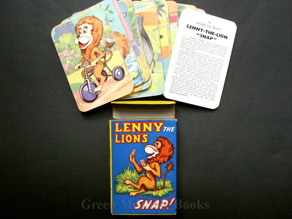 Image for LENNY-THE-LION SNAP  FROM THE T.V. SERIES