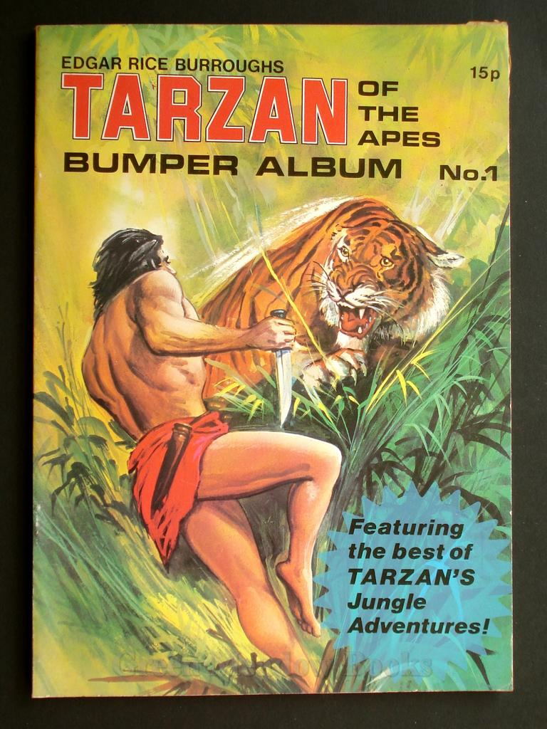 Image for EDGAR RICE BURROUGHS  TARZAN OF THE APES   BUMPER ALBUM No.1