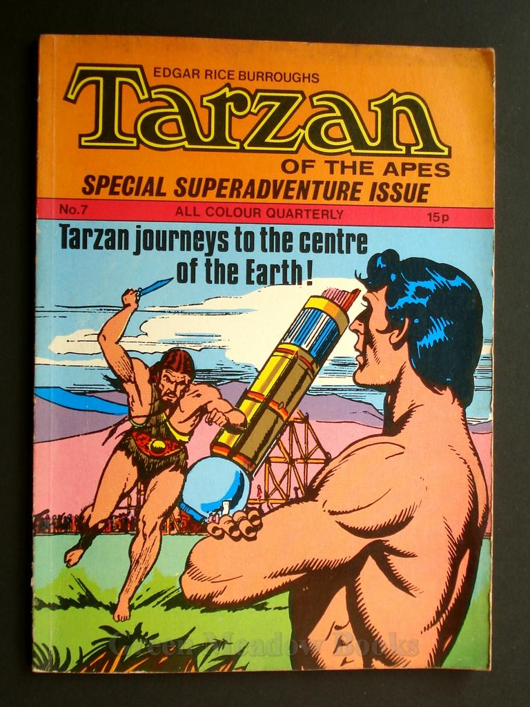 Image for EDGAR RICE BURROUGHS  TARZAN OF THE APES   SPECIAL SUPERADVENTURE ISSUE  TARZAN'S JOURNEYS TO THE CENTRE OF THE EARTH!