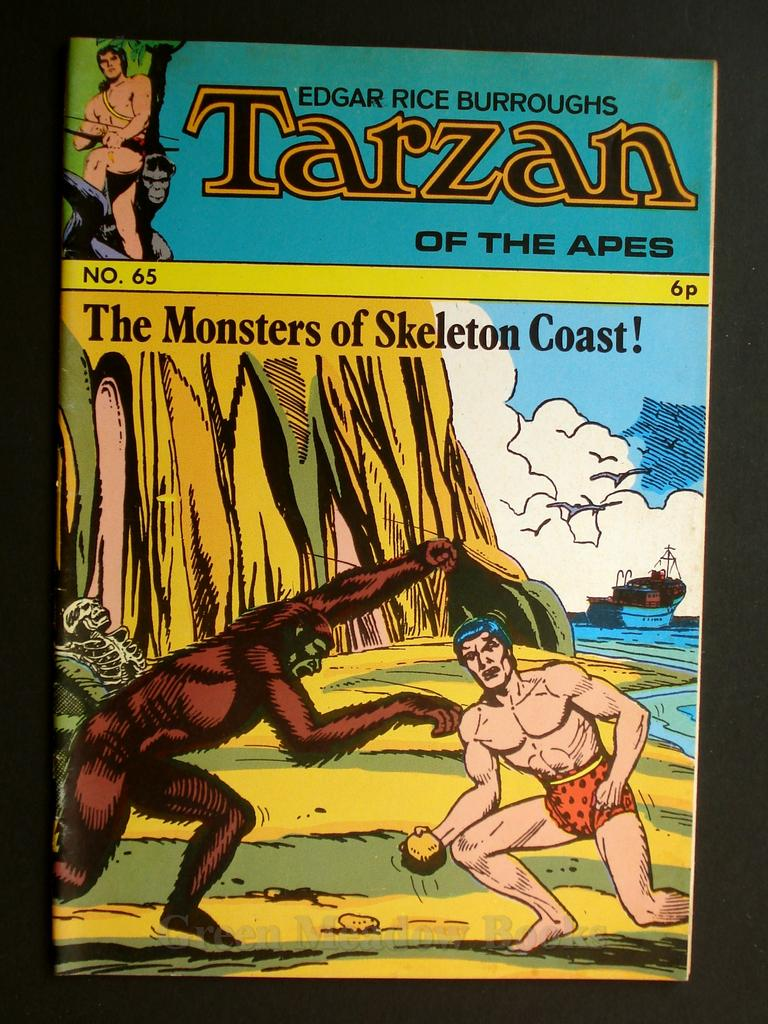 Image for EDGAR RICE BURROUGHS  TARZAN OF THE APES   No. 65.  THE MONSTERS OF SKELETON COAST!