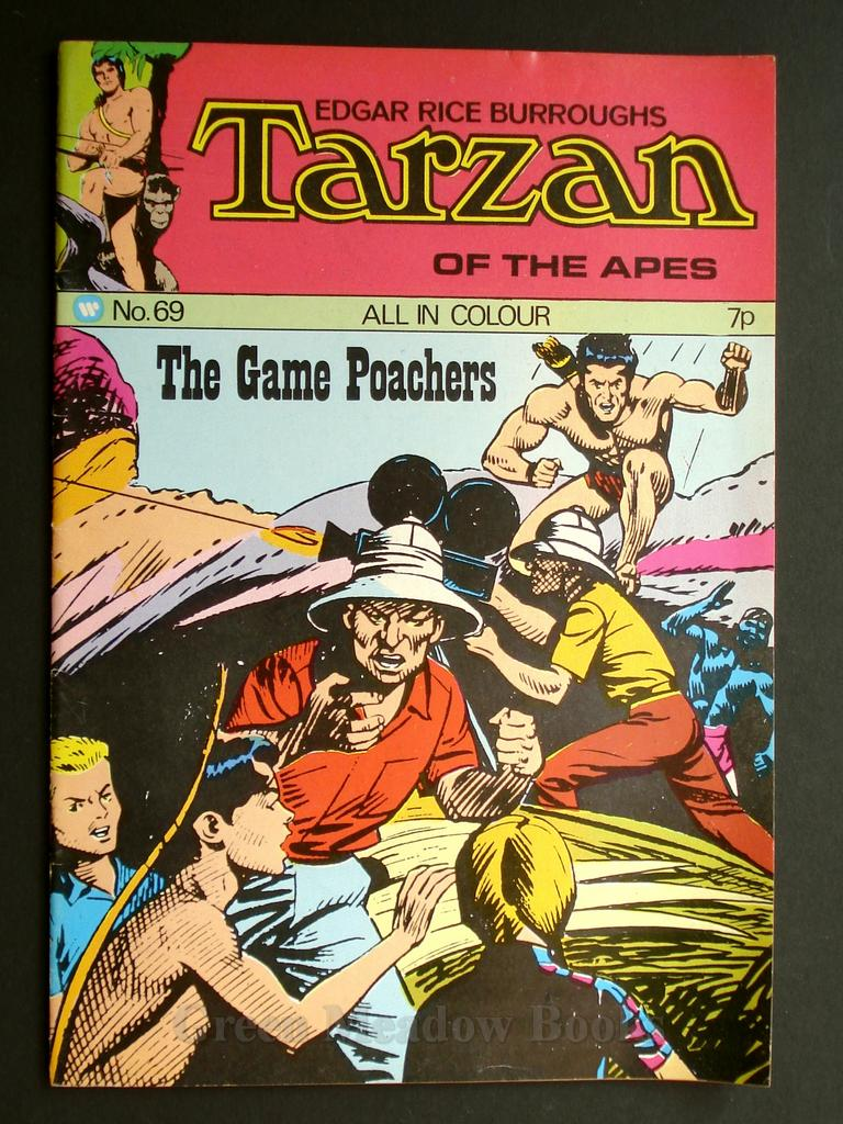 Image for EDGAR RICE BURROUGHS  TARZAN OF THE APES   No. 69.  THE GAME POACHERS