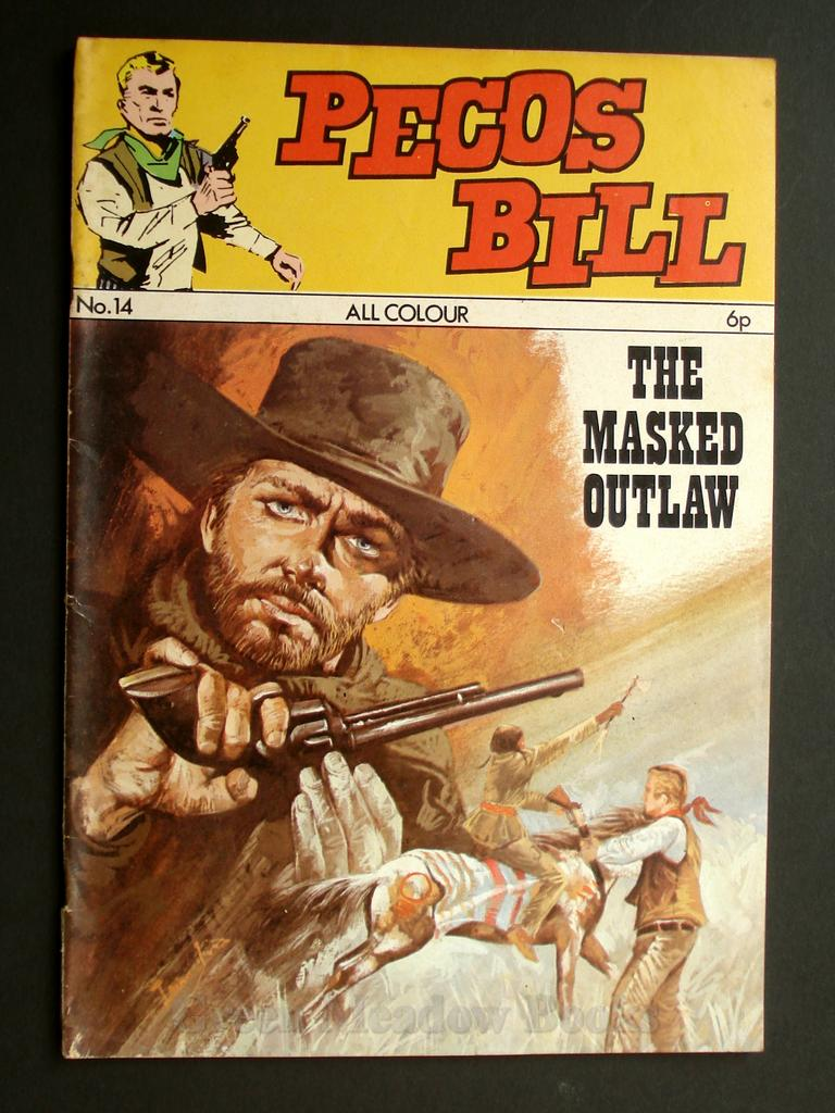 Image for PECOS BILL  No. 14  THE MASKED OUTLAW