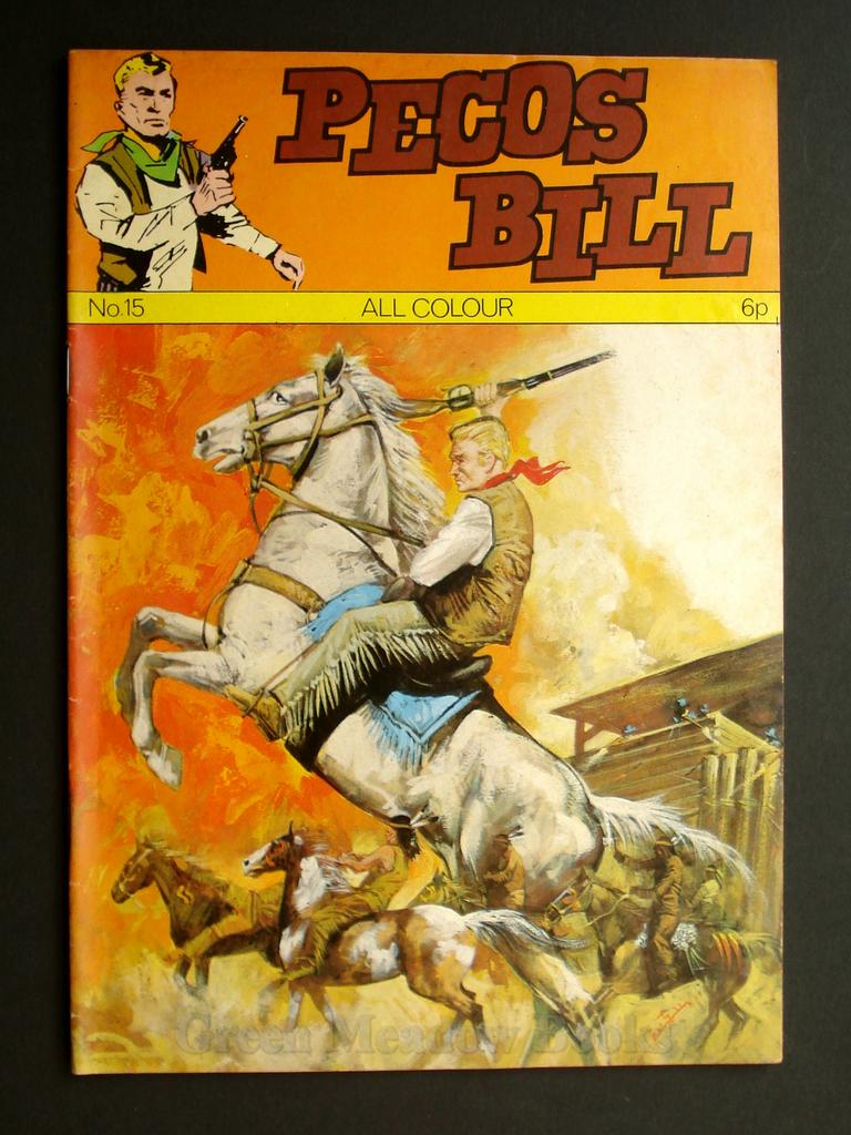 Image for PECOS BILL  No. 15  DEAD MAN'S GOLD