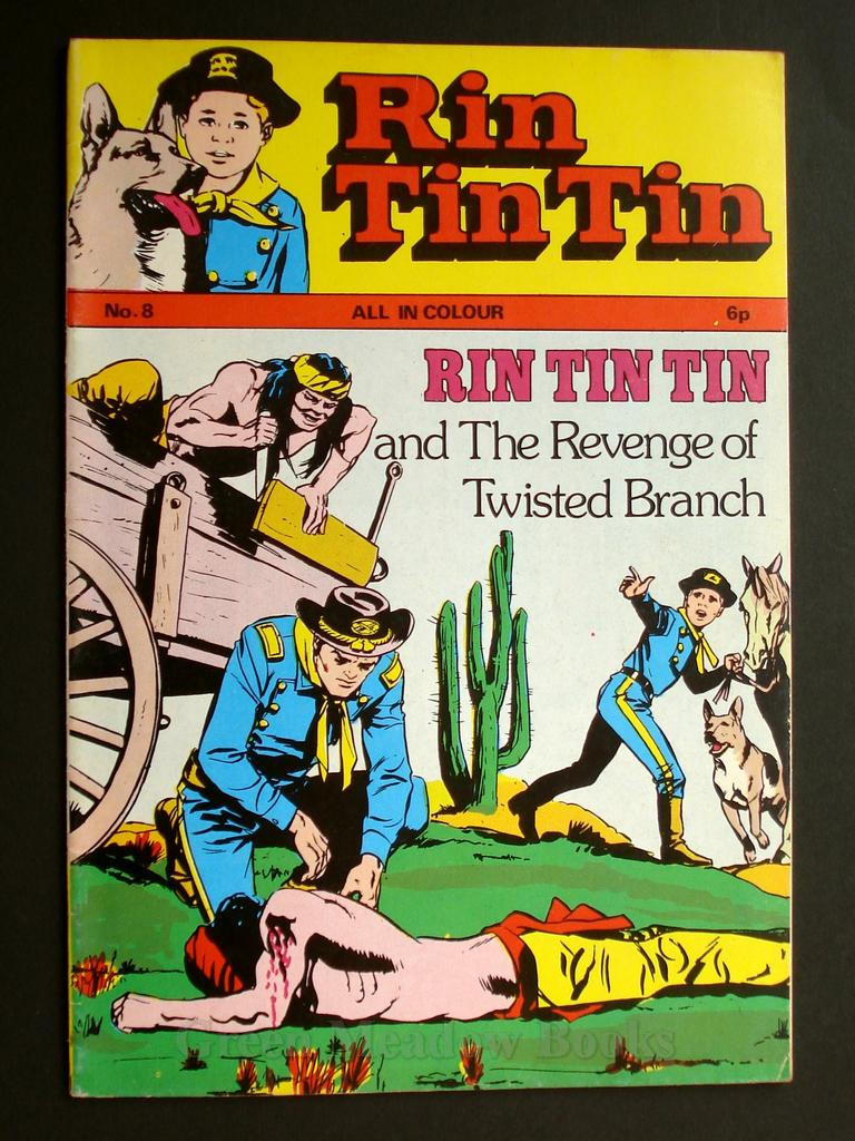 Image for RIN-TIN-TIN   No.8   RIN TIN TIN! RUSTY IS CAPTURED BY THE MESCALEROS!