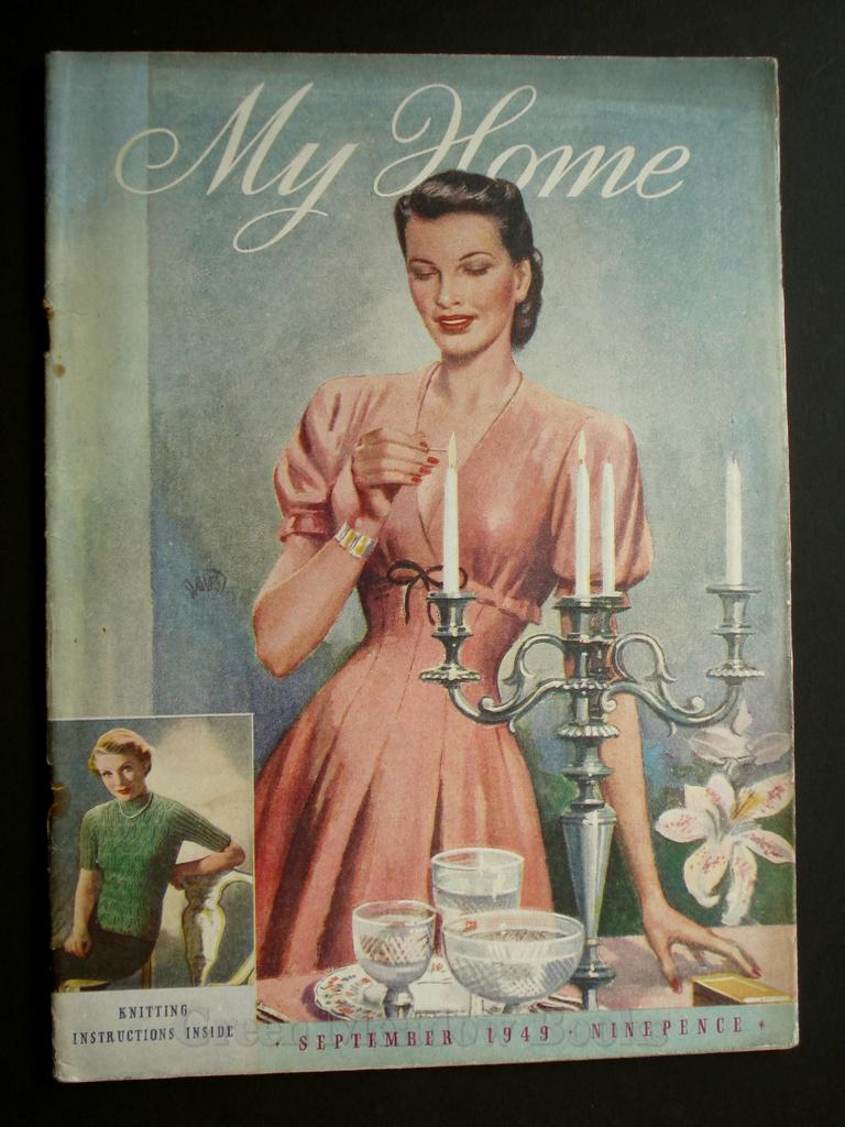 Image for MY HOME  September 1949
